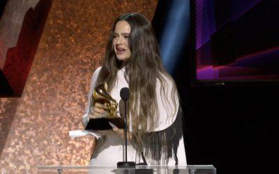 Rosalía, Alejandro Sanz y Marc Anthony entre los ganadores del Grammy