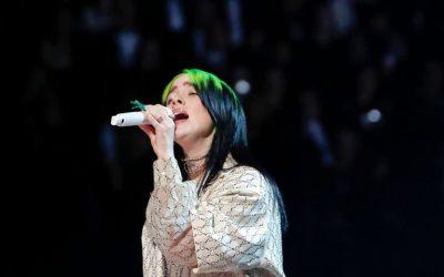 La gran ganadora de la noche: Billie Eilish triunfó en los Premios Grammy