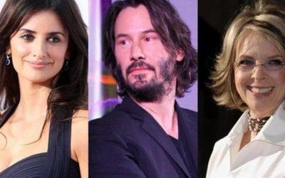 Penélope Cruz, Keanu Reeves y Diane Keaton serán presentadores en los Óscar