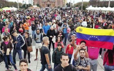 Venezolanos en La Plata