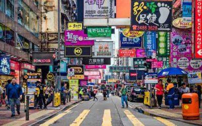 Economía de Hong Kong entra en recesión por primera vez en diez años