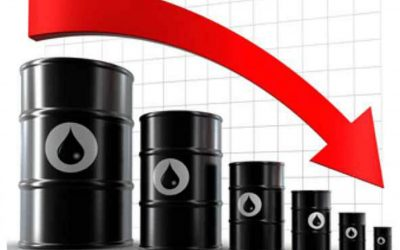El precio del petróleo de EE UU cae casi 20%, por debajo de los 15 dólares el barril