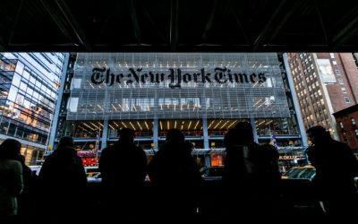 El diario The New York Times se impone en los Pulitzer con tres premios