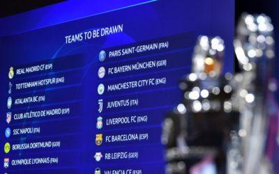 """La """"Champions"""" y la Liga Europa vuelven mañana con el sorteo de fases finales"""
