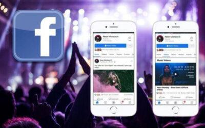 Facebook desafía a YouTube al incorporar videos musicales con licencia
