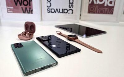 Samsung presentó su Galaxy Note 20 como el smartphone ideal para unir ocio y productividad