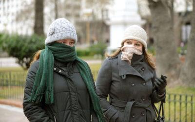 Hoy la temperatura mínima en CABA será de 5 grados y avanza el frente polar más fuerte del año