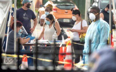 Florida sobrepasó los 600.000 casos de covid-19 y las 10.000 muertes
