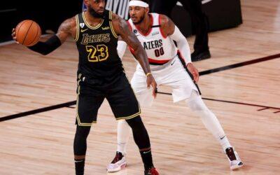 LeBron James y Lakers dieron homenaje a Kobe Bryant con exhibición y triunfo