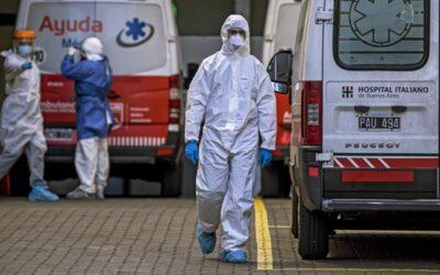 Coronavirus: se registraron 105 nuevas muertes, un nuevo récord en el parte matutino, y el total de víctimas fatales asciende a 7944