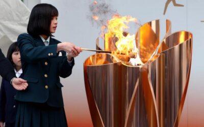 Tokio exhibe al público la llama olímpica durante dos meses