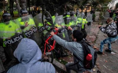 Protestas en Colombia dejaron 7 muertos y 140 heridos