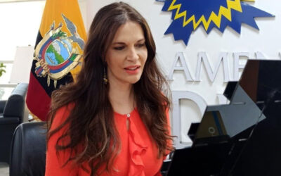 """Vicepresidenta del Parlamento Andino: """"Guaidó, hay que envalentonarse"""""""