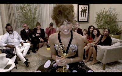 """Zendaya batió un récord en los Premios Emmy: """"Hay esperanza en los jóvenes"""""""
