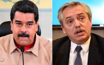 Nicolás Maduro utilizó a la vicepresidente de Venezuela y sus contactos en el kirchnerismo duro para presionar a Alberto Fernández