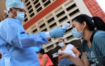 Régimen reportó 615 casos y 7 muertes por covid-19. El número total de contagios en el país es de 81.019