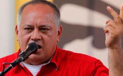 """Diosdado Cabello vuelve a exigir a Alberto Fernández que designe nuevo embajador en Caracas: """"Es muy raro que siga el Encargado de Negocios de Macri"""""""