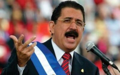 Manuel Zelaya llegó a Venezuela para ponerse la vacuna rusa contra el covid-19