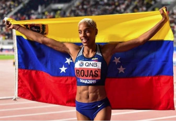 Yulimar Rojas llegó a Tokio en busca del oro para Venezuela