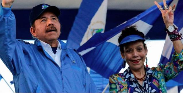UE sancionó a la esposa y al hijo de Daniel Ortega por la represión en Nicaragua