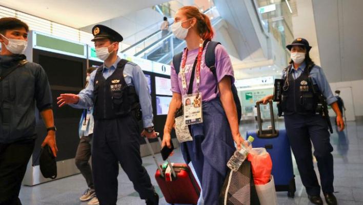 Atleta de bielorrusia, Krystsina Tsimanouskaya, se refugió en la embajada de Polonia en Tokio